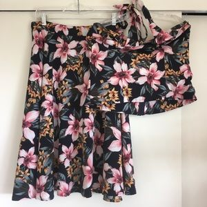 Rock Steady matching skirt and blouse